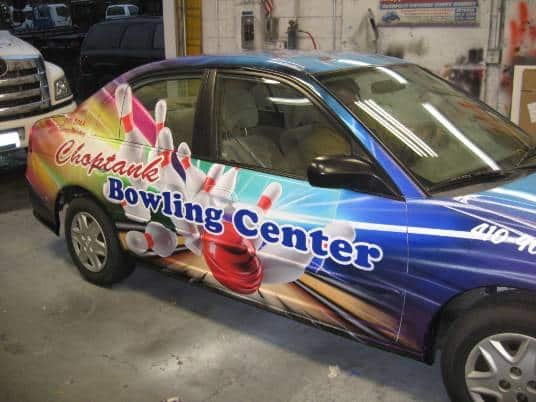 Vehicle Wraps Loudoun Virginia