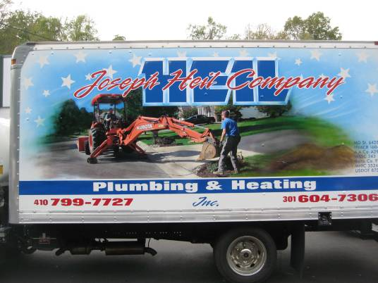 custom sign painters Ellicott City MD